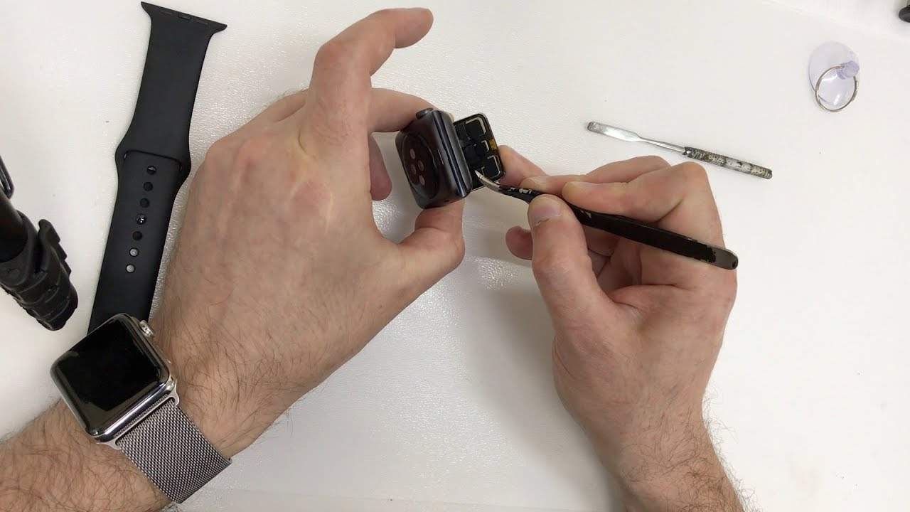 Замена стекла на Apple Watch