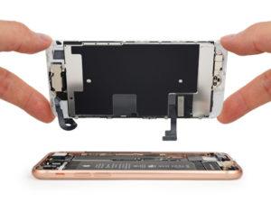 Не работает экран iPhone 8