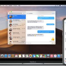 Применение на устройствах Apple эффектов в iMessage