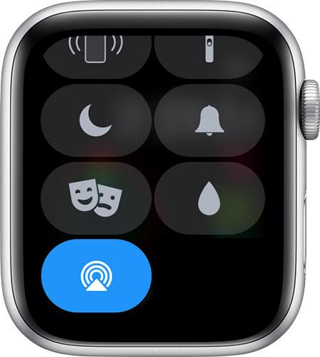 Главные значки и символы состояния на часах Apple Watch