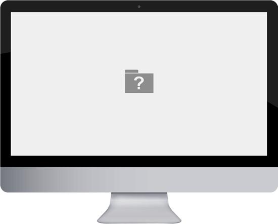 Что делать, когда при включении устройства Mac возникает мерцающий знак вопроса