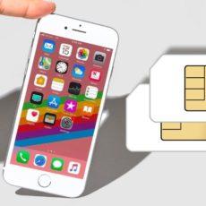 Использование двух SIM-карт, одна из которых eSIM