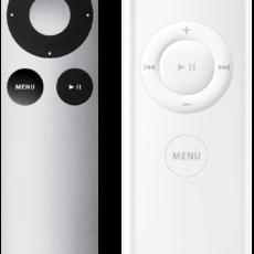 Как выполнить процедуру замены батарейки в пульте ДУ Apple Remote