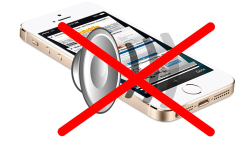 Нет звука или сломался динамик на iPhone