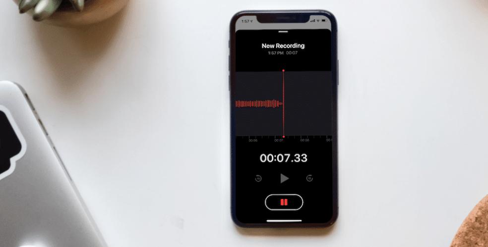 Особенности использования приложения «Диктофон»