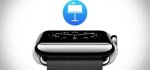 Особенности работы Keynote совместно с часами Apple Watch