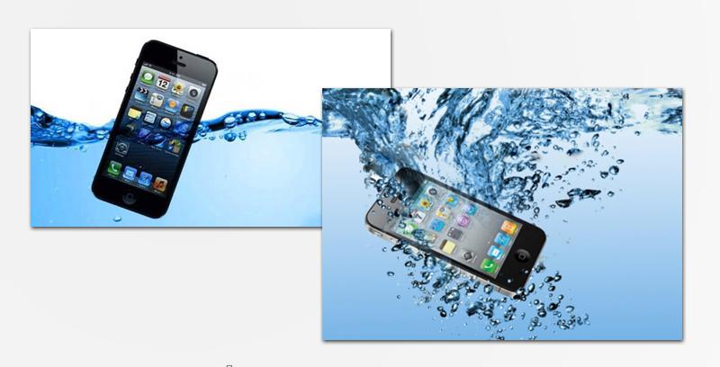 Попадание жидкости или воды в iPhone