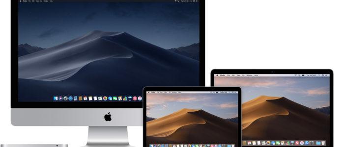 Процедура обновления операционной системы компьютера Mac до Mojave
