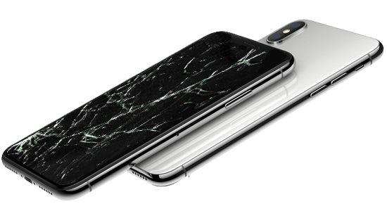 Самые частые виды ремонта iPhone X