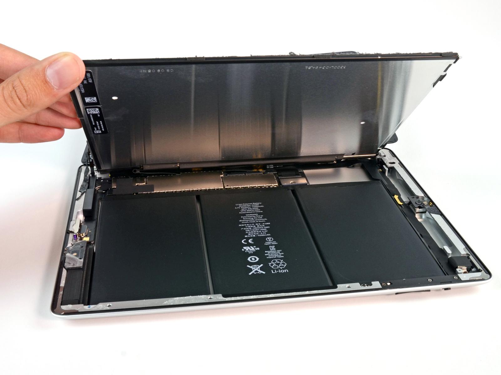 Замена аккумулятора iPad в Харькове