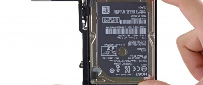 Замена HDD на SSD в iMac в Харькове