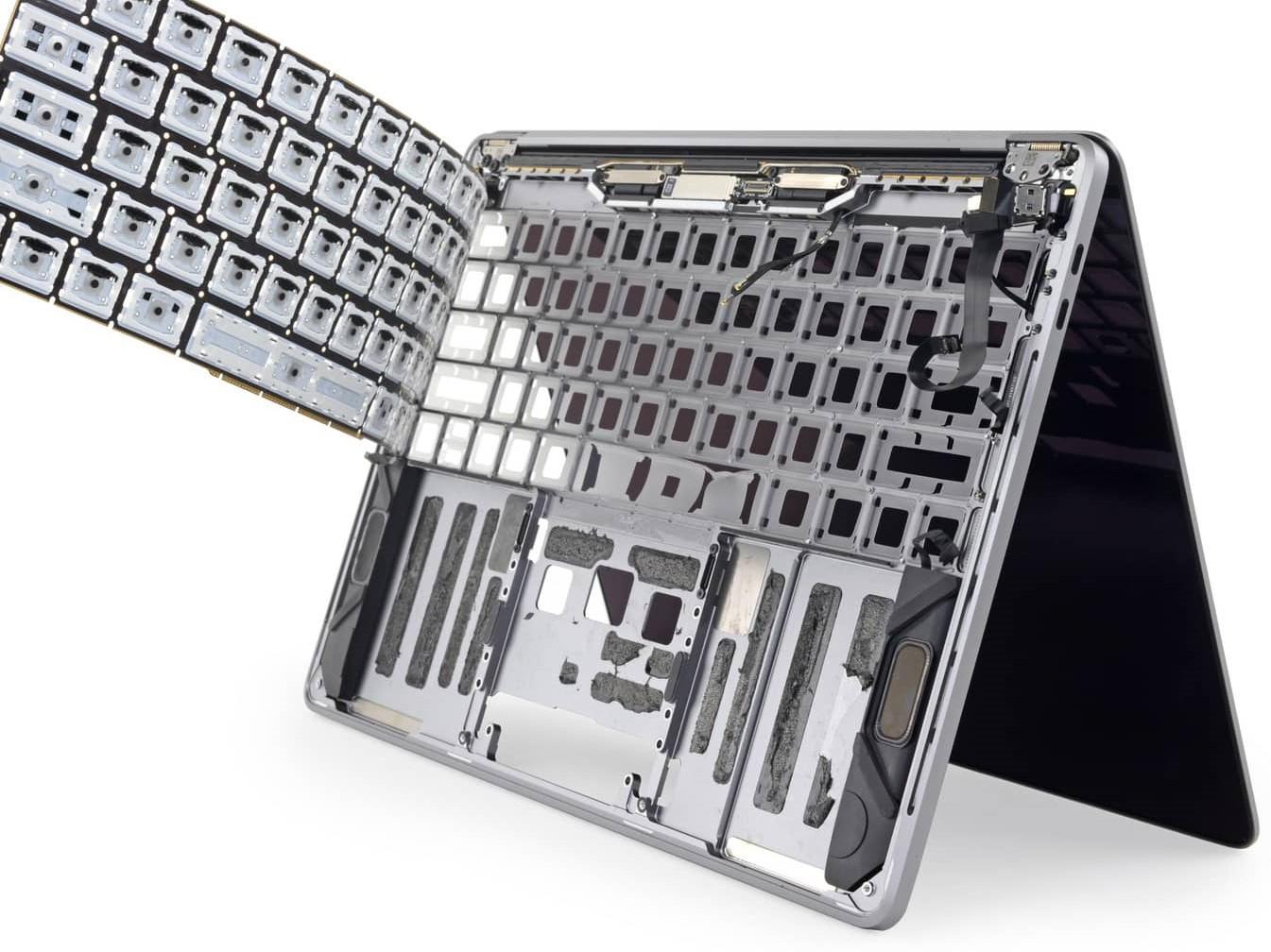 Замена клавиатуры MacBook в Харькове