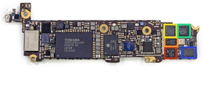 Замена контроллера питания на iPhone 5