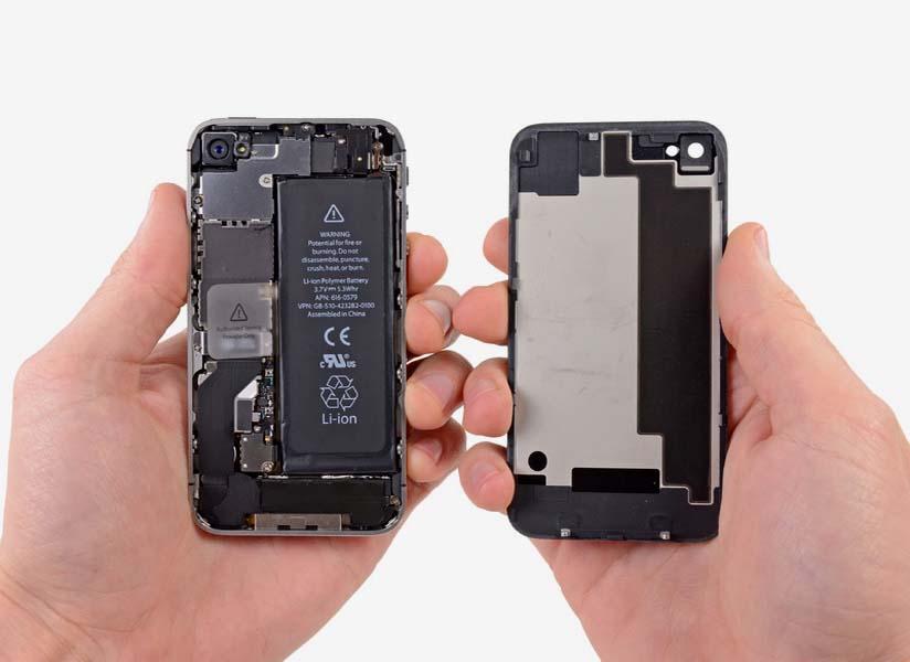 Замена системной платны для iPhone