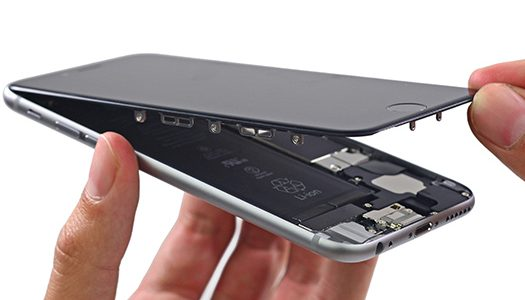 Замена стекла на iPhone 5c