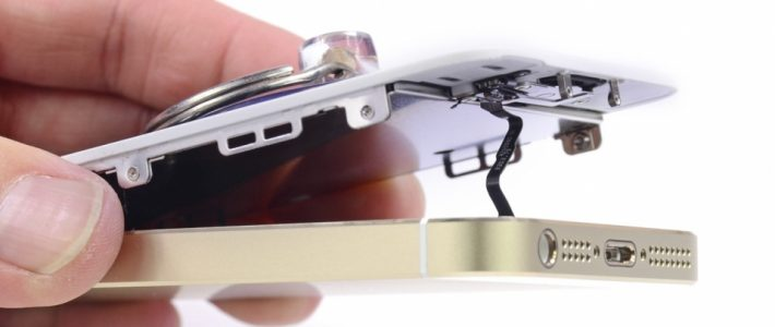 Замена стекла в iPhone SE