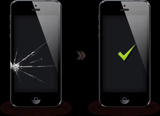 Замена стекла айфона