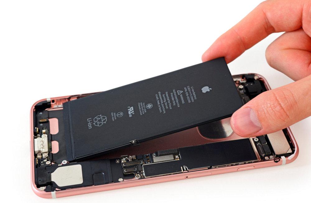 Зависимость работы iPhone от аккумулятора